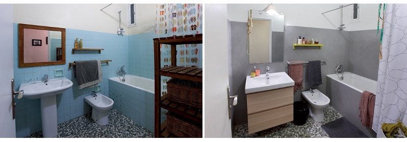 renover salle de bain sans casser carrelage tendance d co tuiles c ramiques. Black Bedroom Furniture Sets. Home Design Ideas