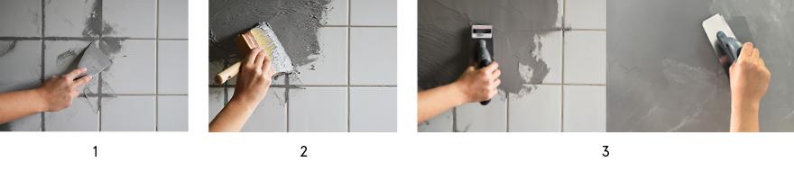 enduit masqu carrelage top peinture etanche pour douche unique peinture hydrofuge leroy merlin. Black Bedroom Furniture Sets. Home Design Ideas