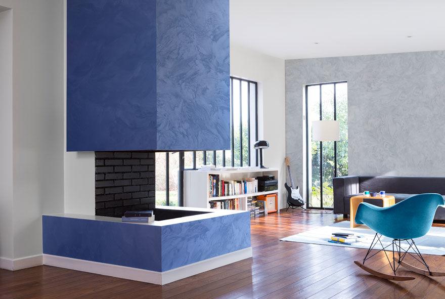 Diabolo peintures et enduits effets d coratifs for Peinture radiateur couleur aluminium