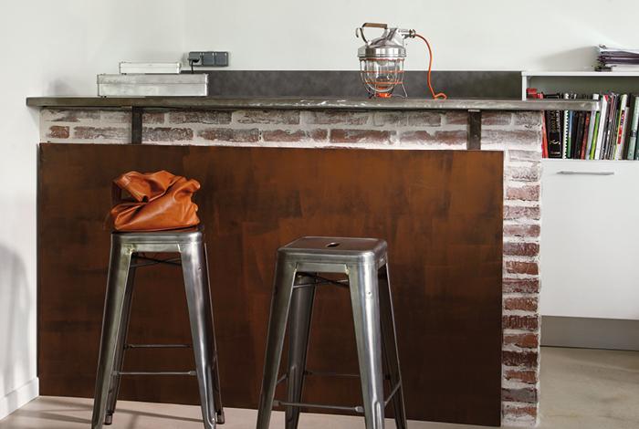 fusion m tal peinture effet oxyd maison d co. Black Bedroom Furniture Sets. Home Design Ideas