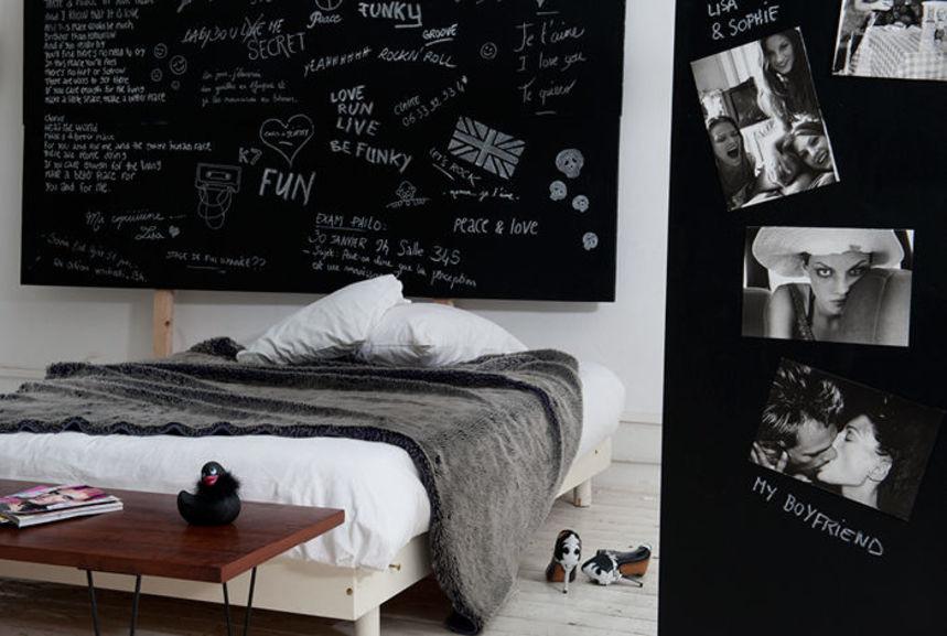 Supérieur Peinture Pour Ecrire Sur Les Murs #3: Exceptional Peinture Pour Ecrire Sur Les Murs #11: Peinture Gribouille -  Noir