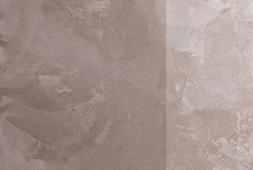 Industrie enduit m tallis maison d co - Peinture marron glace ...