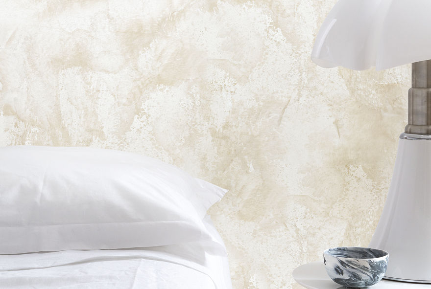 stunning le stuc blanc de carrare with peinture murale stucco. Black Bedroom Furniture Sets. Home Design Ideas