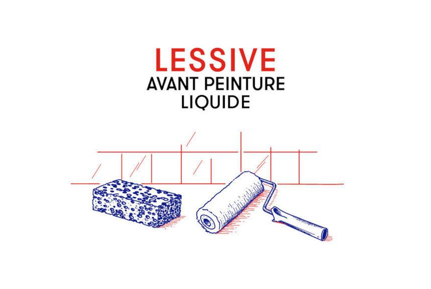 Lessive liquide avant Peinture - Lessives avant Peinture - Droguerie spéciale travaux