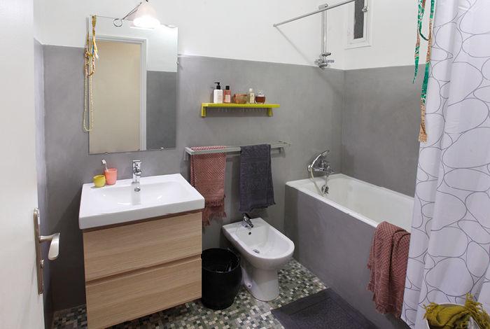 Masqu 39 carrelage r novation facile maison d co for Salle de bain urbaine