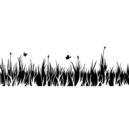 stunning pochoir frise herbes folles with pochoir frise arabesque. Black Bedroom Furniture Sets. Home Design Ideas