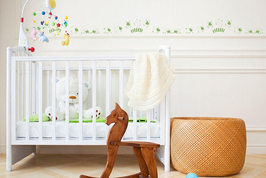 pochoir saute moutons frise pochoirs peintures. Black Bedroom Furniture Sets. Home Design Ideas