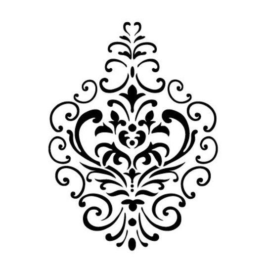 Pochoirs et peintures maison d co for Decoration porte au pochoir