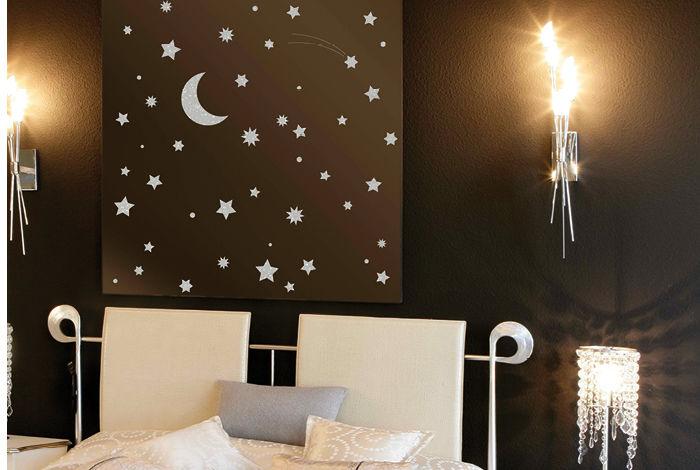 pochoir ciel toil m pochoirs peintures. Black Bedroom Furniture Sets. Home Design Ideas