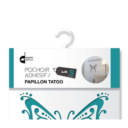 Pochoir S - Papillon tatoo Packshot
