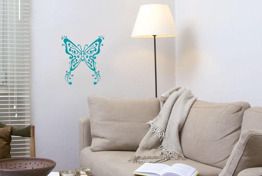 pochoir papillon tatoo s pochoirs peintures. Black Bedroom Furniture Sets. Home Design Ideas