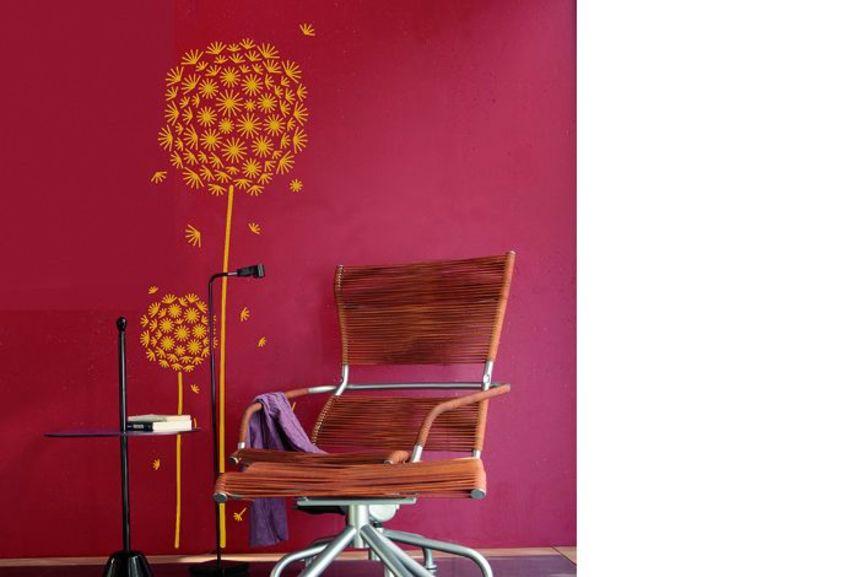 pochoir pissenlit xl pochoirs peintures. Black Bedroom Furniture Sets. Home Design Ideas