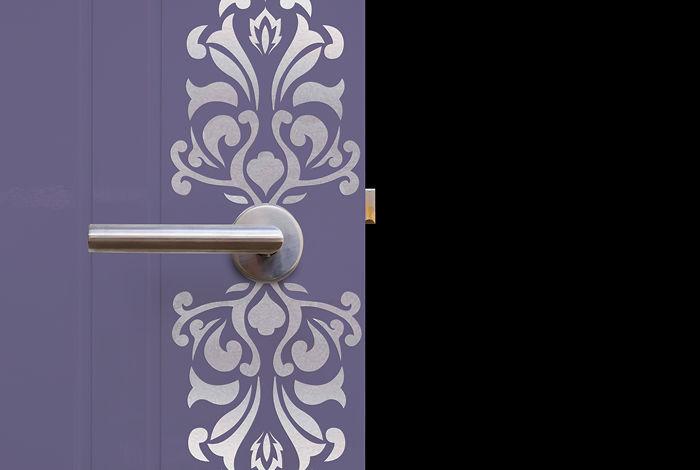 pochoir poign e xs pochoirs peintures. Black Bedroom Furniture Sets. Home Design Ideas