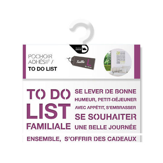 Pochoir To do list Packshot