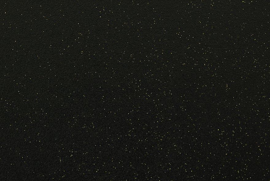 Charmant ... Strass Or   Détail Mélangé Avec Peinture Noir