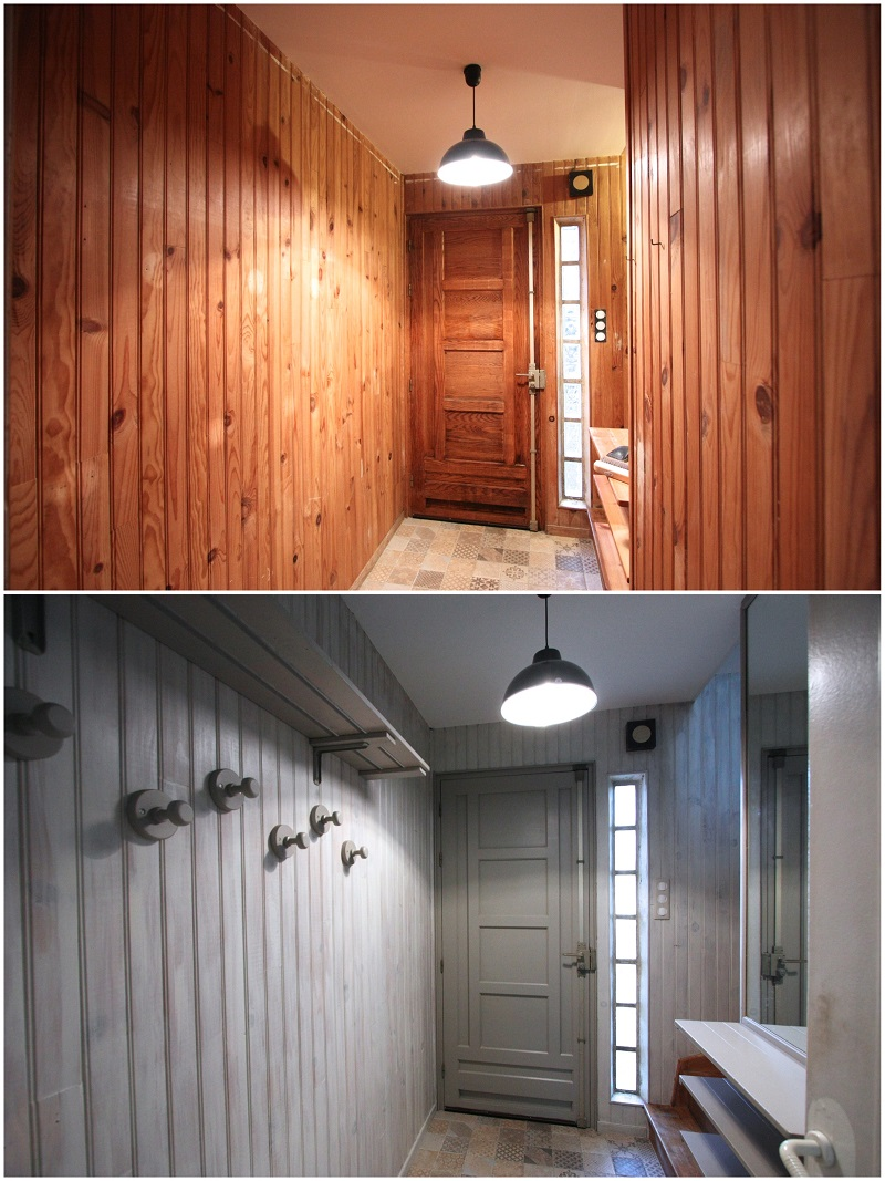 une entr e m tamorphos e avec relook bois relooking de meubles d co du bois le blog. Black Bedroom Furniture Sets. Home Design Ideas